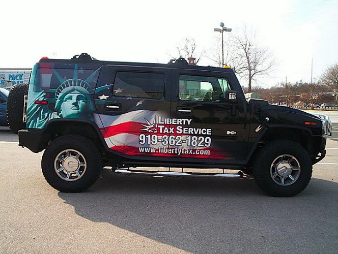 Liberty Tax Hummer 01
